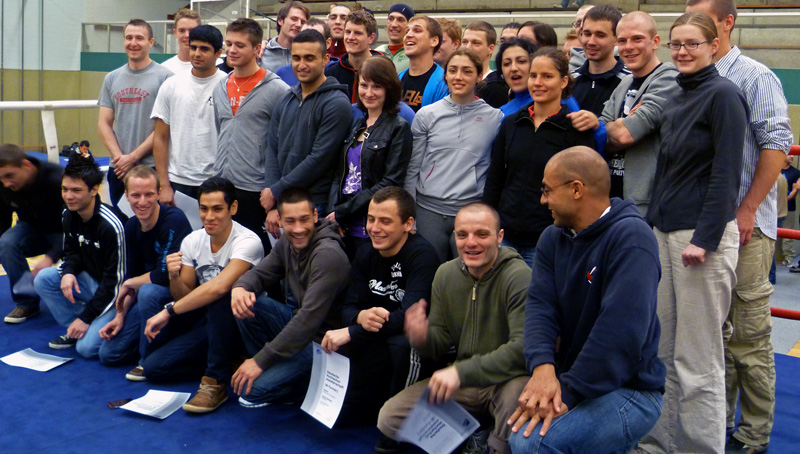 award ceremony boxing high school championships marburg 2011
